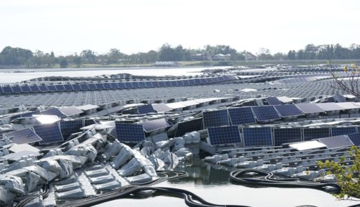 災害対策としても注目される太陽光発電。そもそも太陽光発電は台風の強風に耐えられるの?