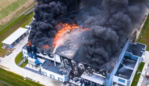 大規模倉庫における『火災の教訓』をご紹介します!